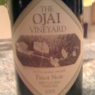 Ojai Vineyards Pinot with Chicken & Rice